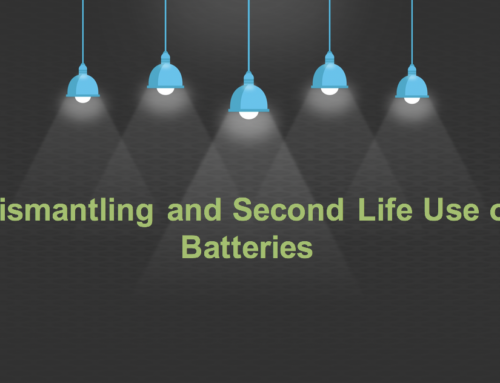 Spotlight on: Dismantling and Second Life Use of Batteries